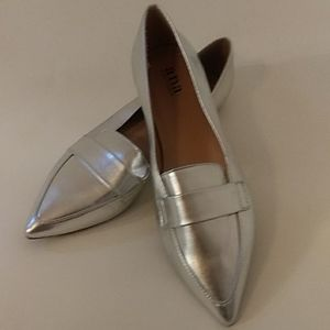 Silver Ana Loafer 8.5